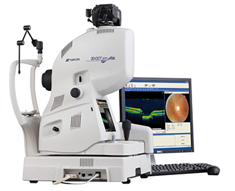 Topcon's 3D OCT -  - Echipament medical
