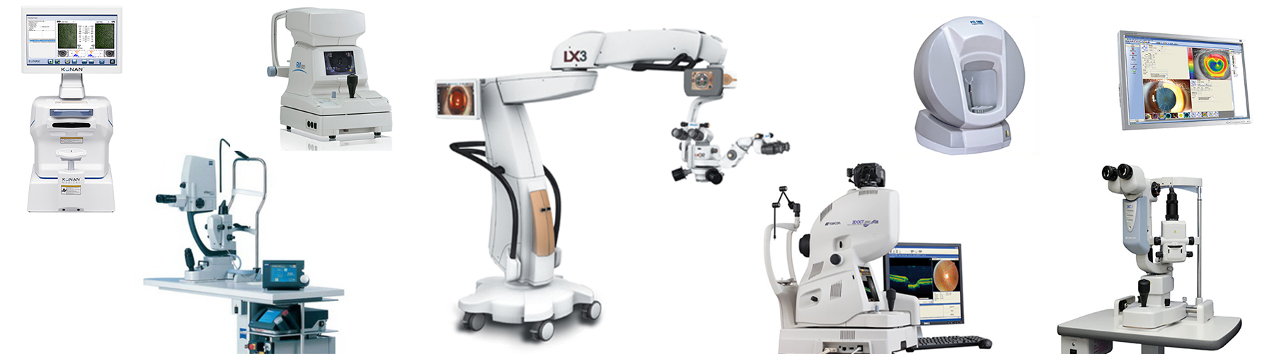 echipament oftalmic folosit