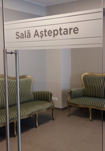 Medoptic Botosani - Sala asteptare